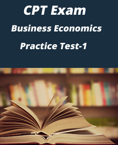 CA CPT Business Economics Online Practice Test Papers